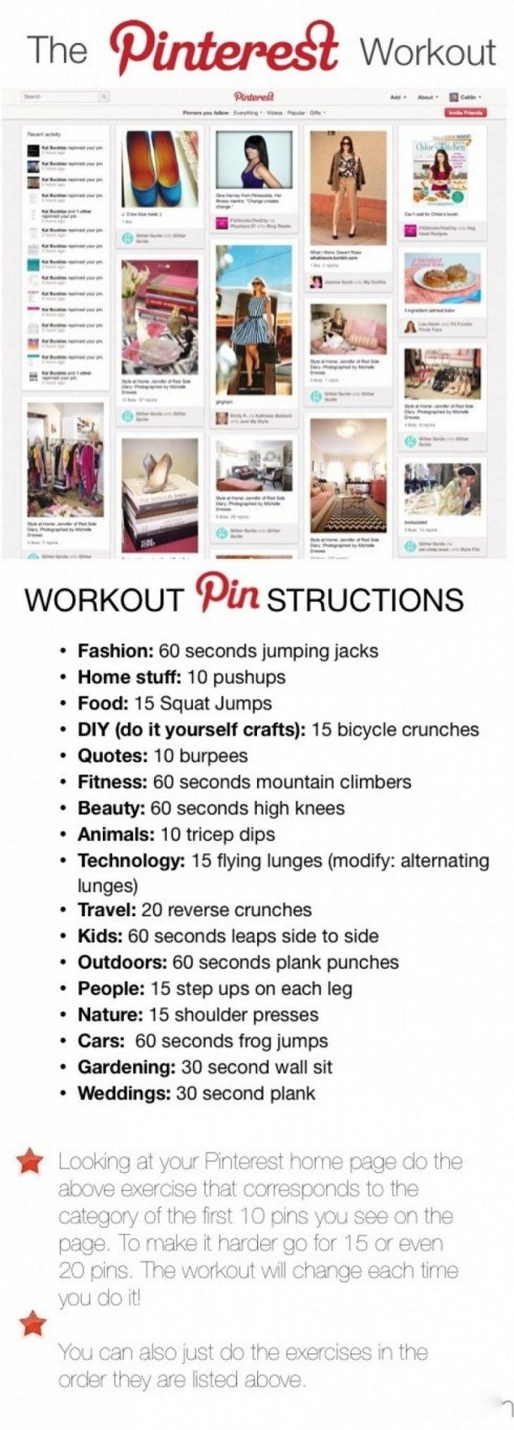 Best 25 personal trainer school ideas on pinterest personal personal trainer pinterest infographic great way to change up calisthenics using your pinterest 1betcityfo Image collections