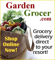 Garden Grocer delivers groceries to your Disney resort and throughout central Florida! Order your diapers and baby supplies, water bottles, snacks. Even good if you don't have a villa!