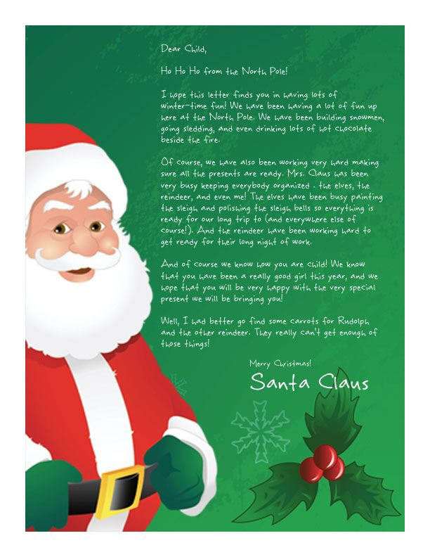 22 best letters to santa images on pinterest christmas crafts easy free letter from santa magical package spiritdancerdesigns Images