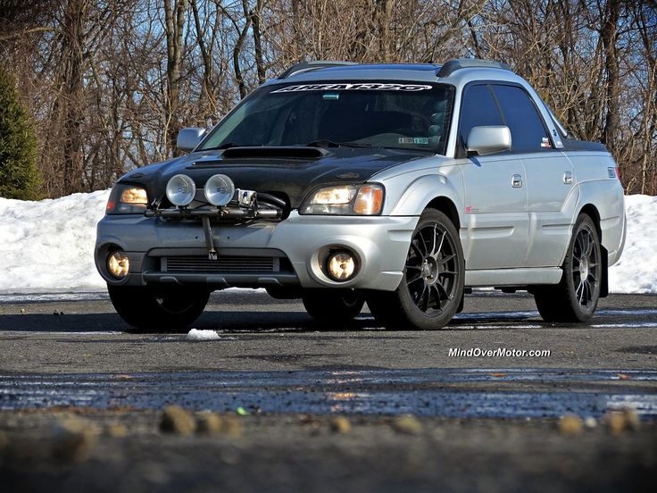 Subaru Baja From Hell by Area1320