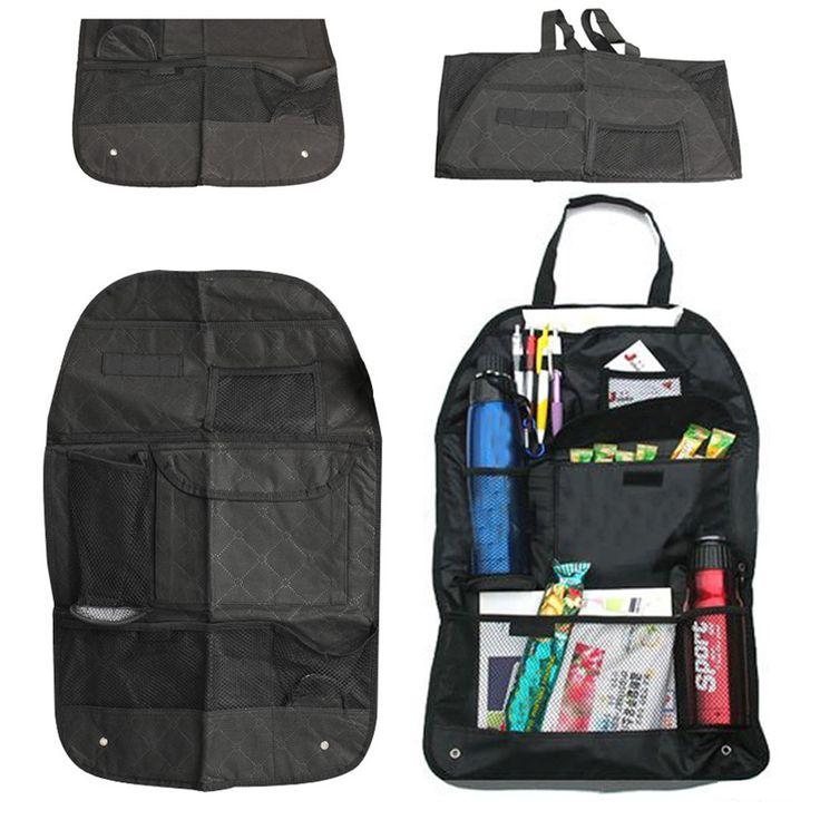 Auto Sedile Posteriore Boot Organizer Trash Holder Net Multi-Tasca Sacchetto di Immagazzinaggio di Corsa Gancio Per Auto Capacità di Stoccaggio Pouch