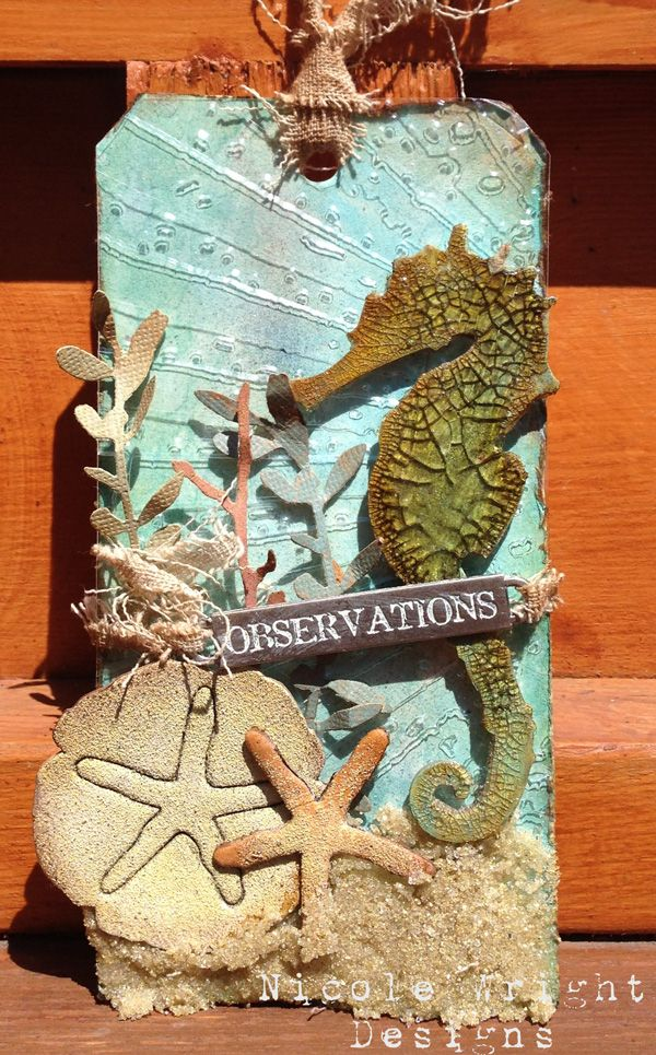 Such a Gorgeous creation by Nocole Wright for the Simon Says Stamp Monday challenge Blog.