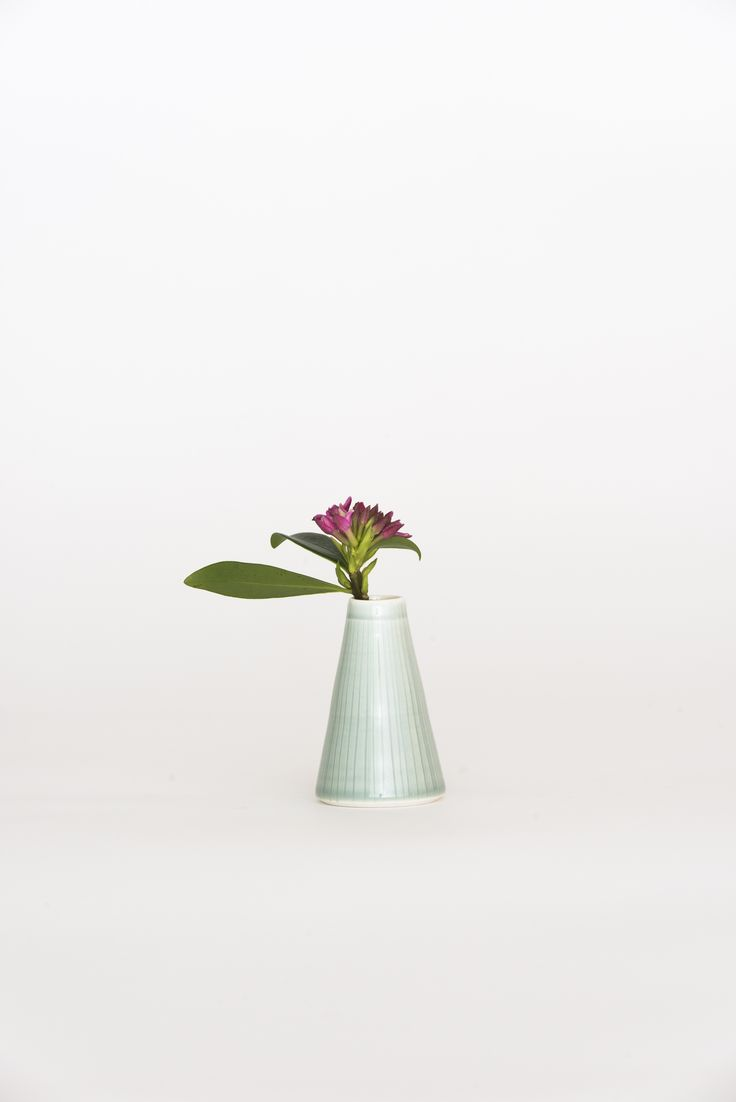 https://councilofobjects.com.au/shop/bud-vase-sage Susan Frost Sage Bud Vase. Styling: Elise Short of Council of Objects. Photography: Sven Kovac. Location: The Props Dept.