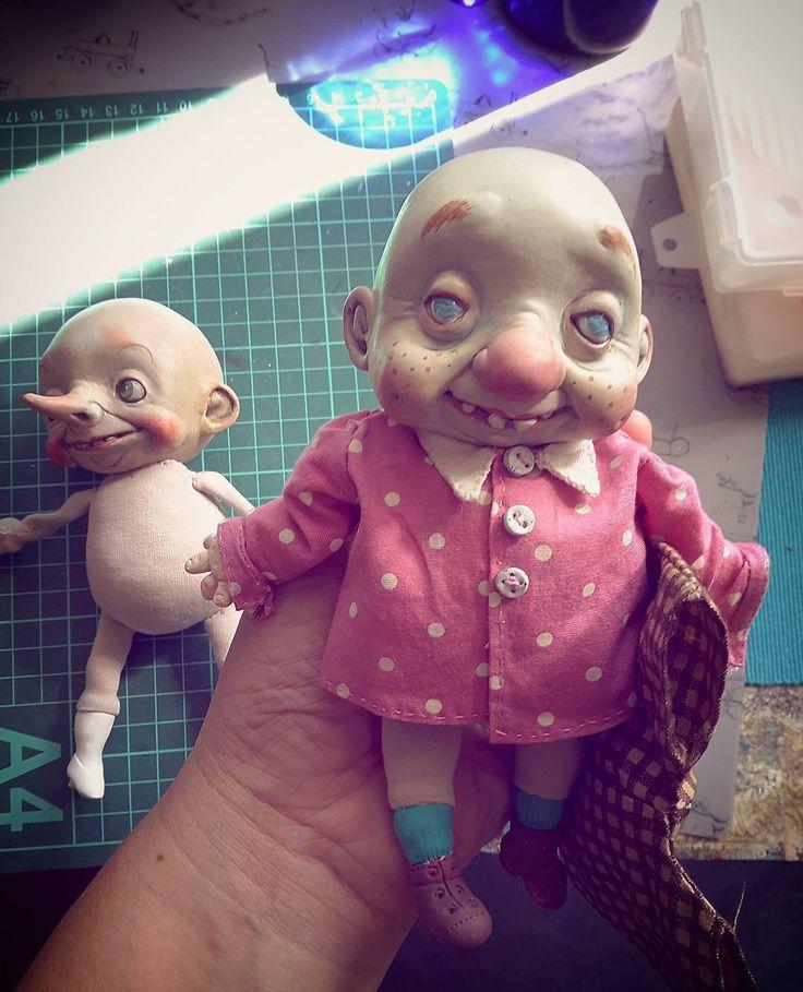 Процесс работы,примерка.Прическа впереди.#Куклы #doll #творчество #коллекционнаякукла #инстамир #handmadedolls #beautifulart #dollcollection #dollartistry #instalike #авторскаякукла #artdoll