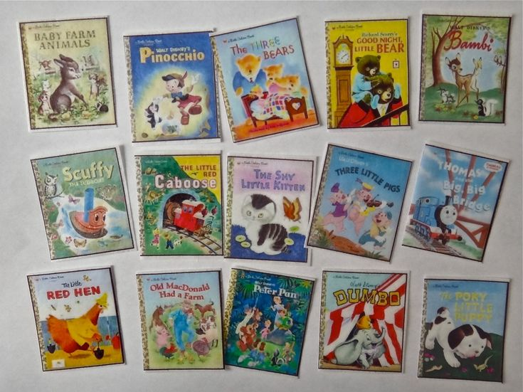 16 Vintage Disney Little Golden Books by QueenofTartsWafers, $10.00