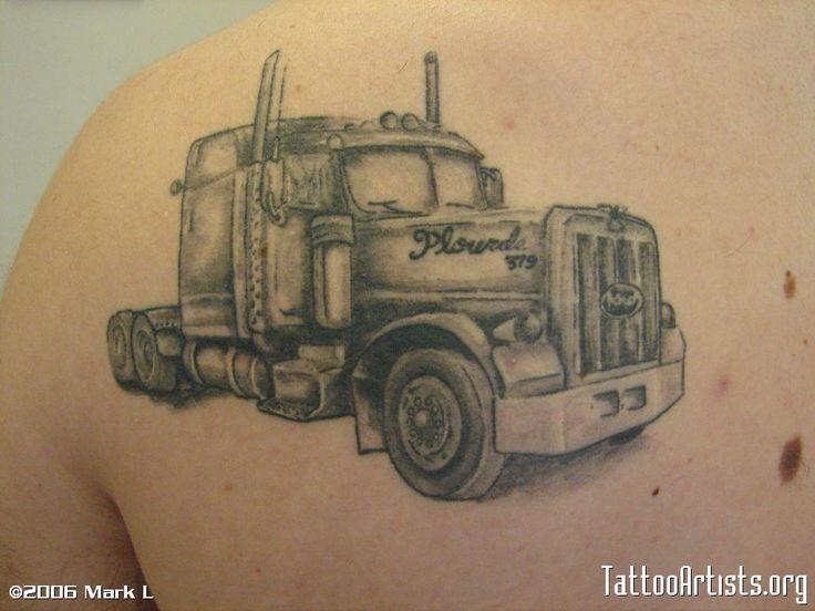 22 best truck tattoo ideas images on pinterest tattoo ideas truck tattoo and design tattoos. Black Bedroom Furniture Sets. Home Design Ideas