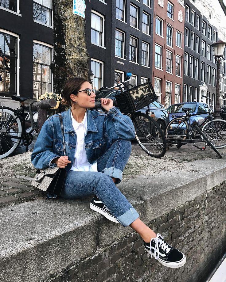 "3,909 Likes, 132 Comments - BENTHE LIEM (@bentheliem) on Instagram: ""Sunny Amsterdam ✨ #brandymelville #levis #asos #gucci #rayban"""