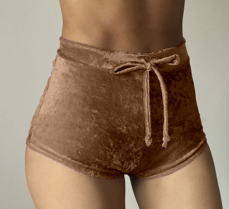 Wantmove 10 colors S-XL women velvet drawstring shorts casual high waist 2017 autumn winter sexy elegant skinny shorts XD742