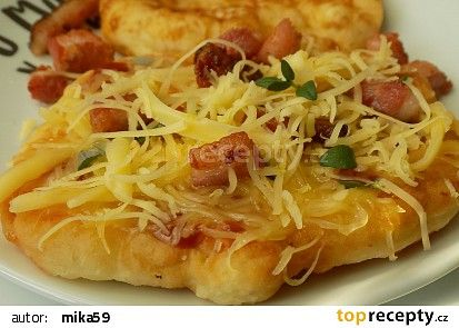Bramborové langoše recept - TopRecepty.cz