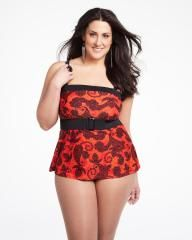 a-line tube tankini | Shop Online at Addition Elle