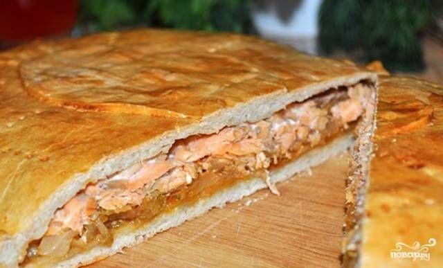 Пирог с капустой и рыбой - пошаговый рецепт с фото на Повар.ру