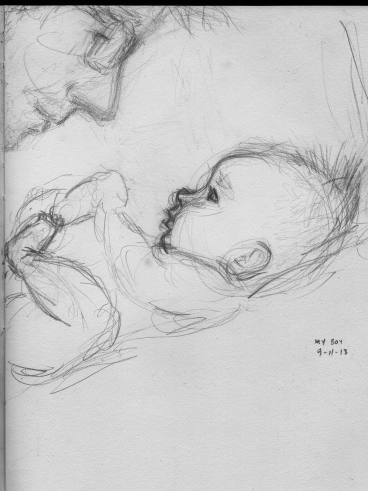 """My Boy"" 365 drawing blog, Curtis Wiklund"