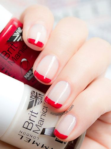 Red is the color of love, roses, and our favorite polish.
