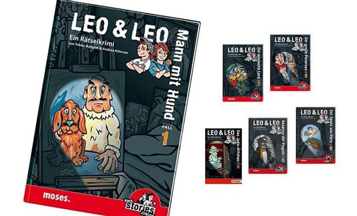 Leo & Leo sind von Tobias Bungter und Andrea Köhrsen im moses. Verlag erschienene Rätselkrimis für Kinder ab 8 Jahre.  Die Zwillinge Leonie und Leonard gründen den Detektivclub Leo & Leo  und erleben damit die größten Abenteuer. Knifflige Rätsel warten im Buch darauf, von neugierigen Spürnasen (den Lesern)  im Laufe der Geschichte entschlüsselt zu werden.