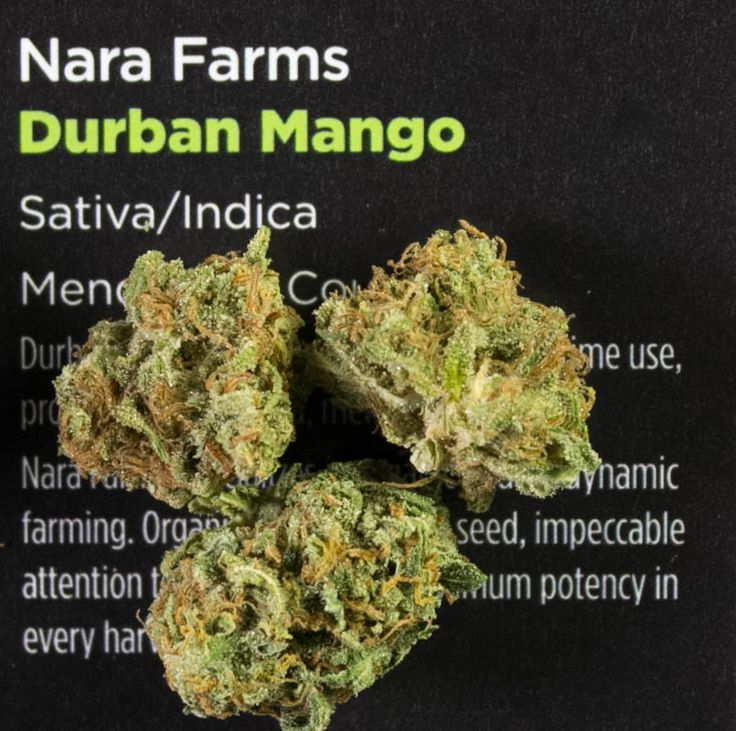 Marijuana Strain Reviews: Durban Mango, a Surprising Strain that offers a great balance of energy and relaxation in a smooth, flavorful hit.