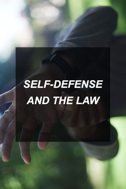 Self-Defense and the Law | Survival Shelf | Survival & Preparedness Links
