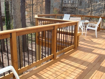 Perfect Ipe Wood Deck