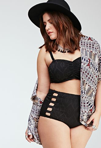 May have to try out a swimsuit from here this summer....WOMEN'S PLUS SIZE CLOTHING SIZES 12-20 | PLUS | Forever 21