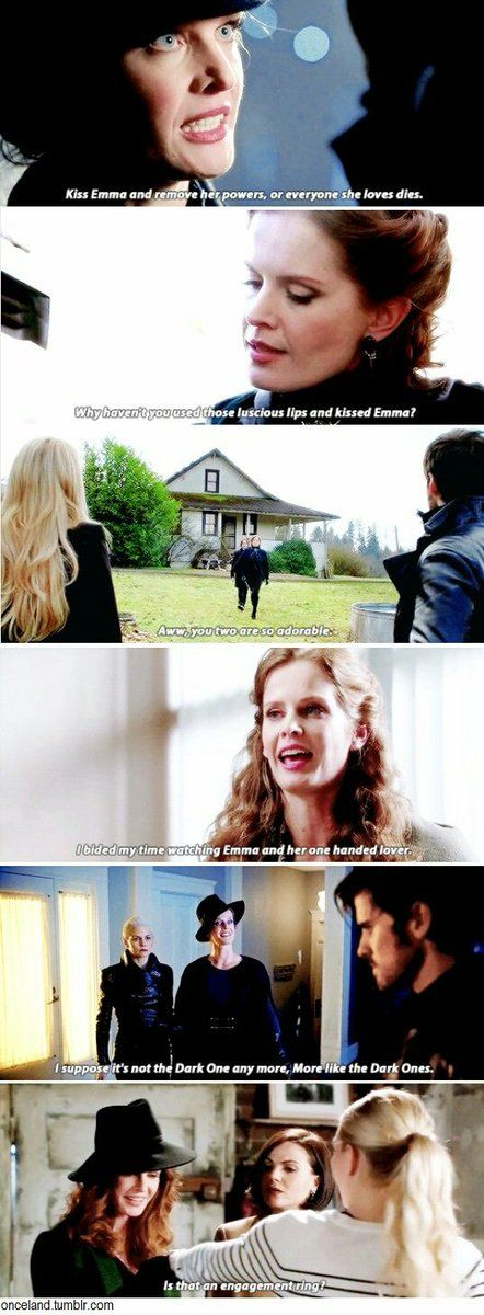One thing the Wicked Witch is doing right though is rooting for Captain Swan ❤️