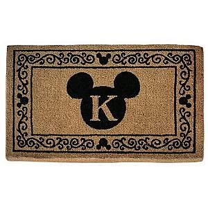 Mickey Icon Personalized Doormat Review Kaboodle