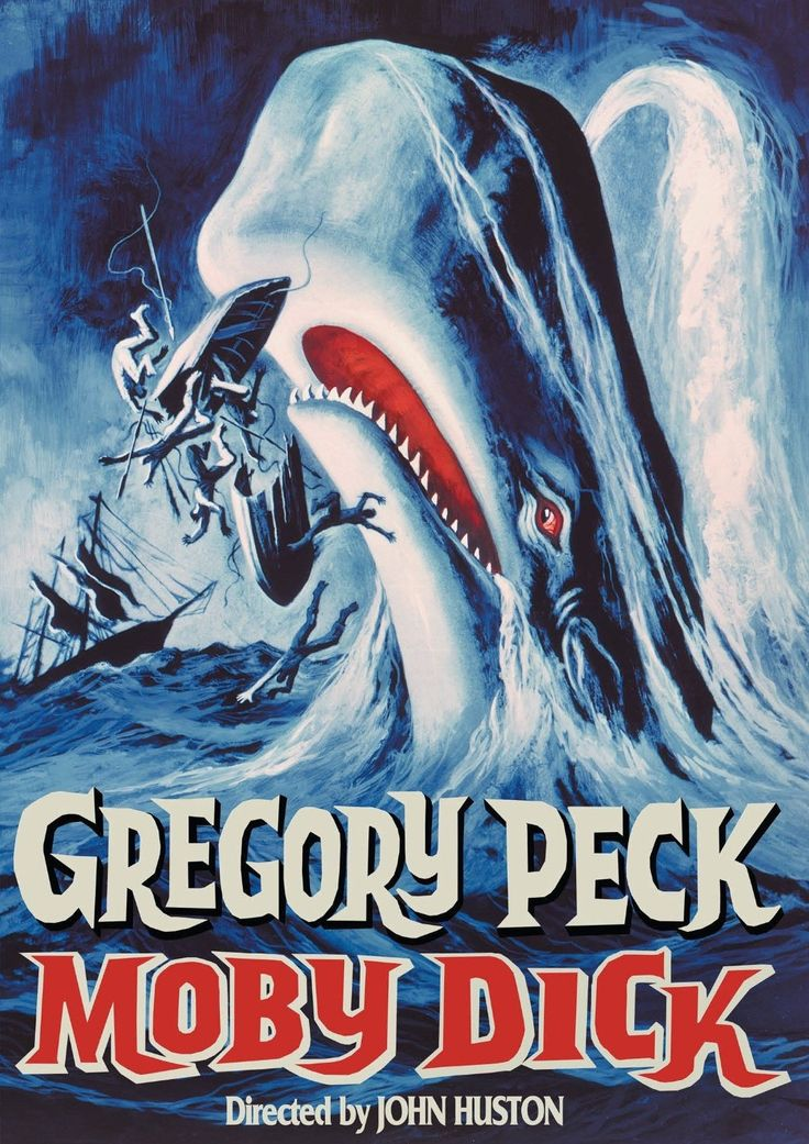 In New Bedford, Connecticut, in the 1800s, a group of seamen board the Pequod, captained by Ahab (Gregory Peck). They know they're out to harpoon whales; what they don't realize is that Ahab once lost