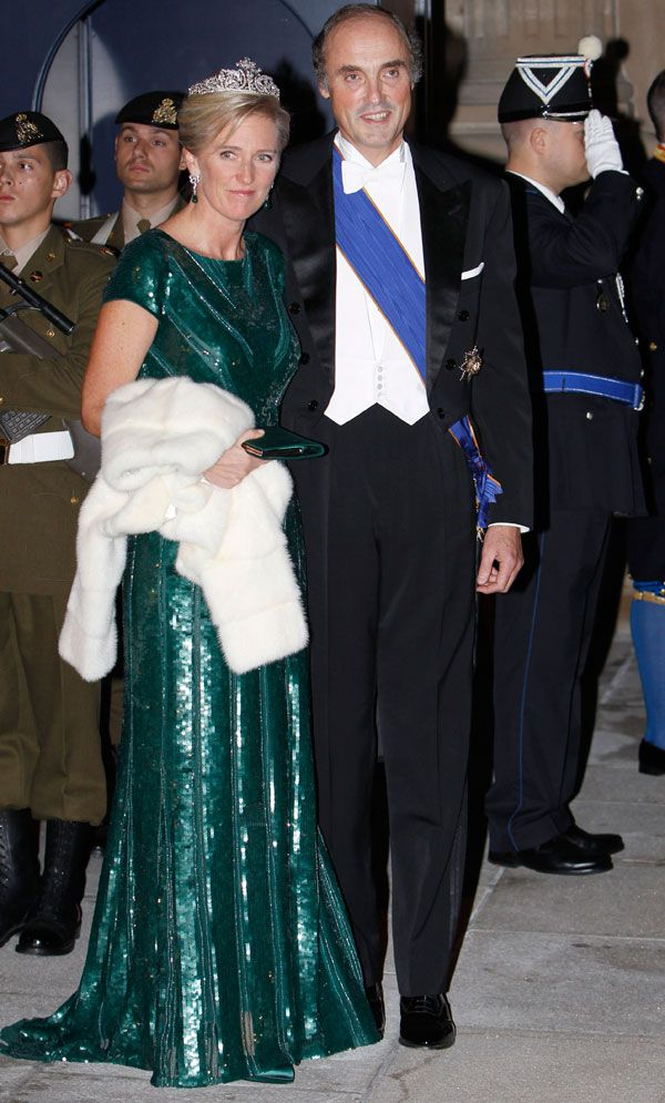 Prince Lorenz of Belgium and Archduke of Austria and Princess Astrid of Belgium
