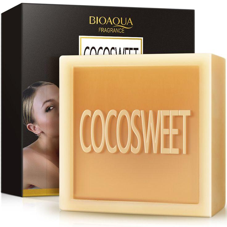 The brand BIOQUA skin whitening soap bath and body works rose soap handmade natural soap