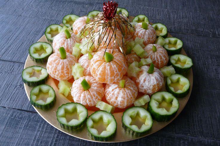 Healthy snack for kids christmas dinner