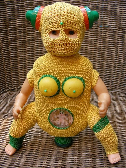 """another one of those things that """"just because you can crochet, doesn't mean you SHOULD crochet""""…."""