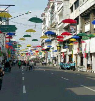 Asia Afrika Street at Bandung