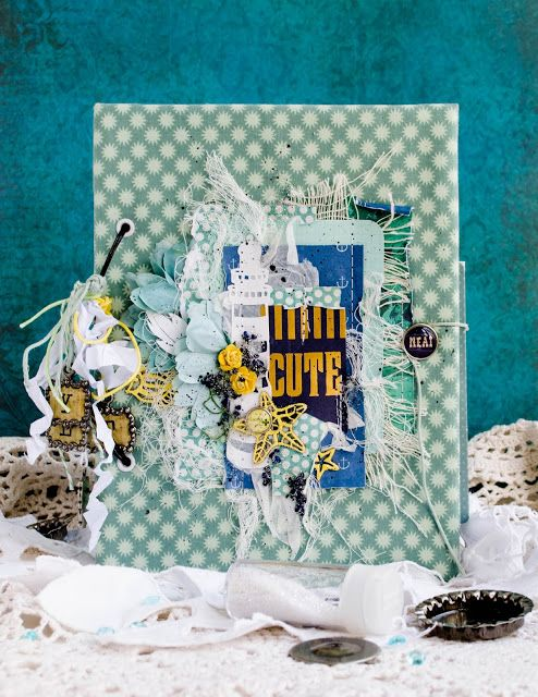 Scrap Kit Club Скрапбукинг идеи, мастер классы: Travel-book от Анастасии…
