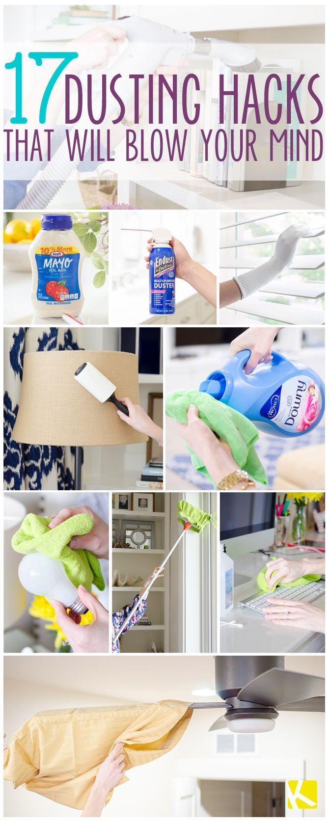 8 Incredible Ways to Dust That Will Blow Your Mind   Cleaning ...