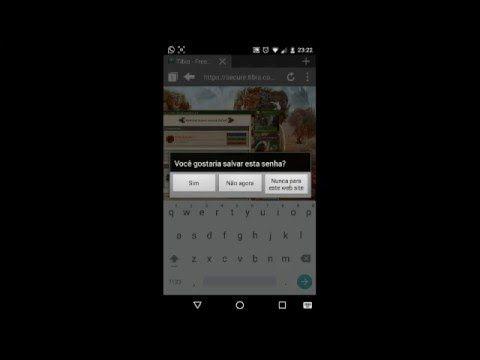 Como jogar tibia online pelo Android