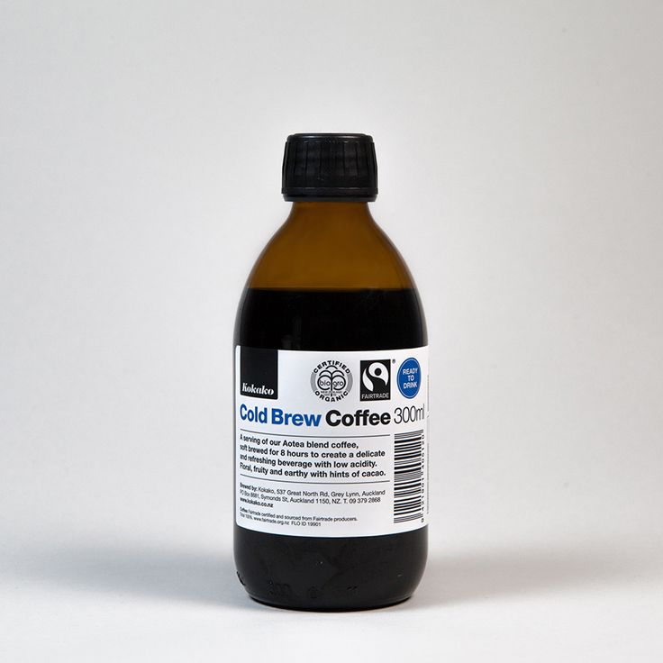 kokako cold brew coffee