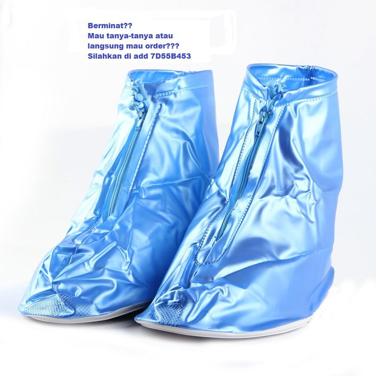 Tidak takut lagi sepatu anda kehujanan atau kecipratan air saat hujan kalalu anda sudah pakai shoe cover ini. Tersedia dalam 2 warna biru dan pink