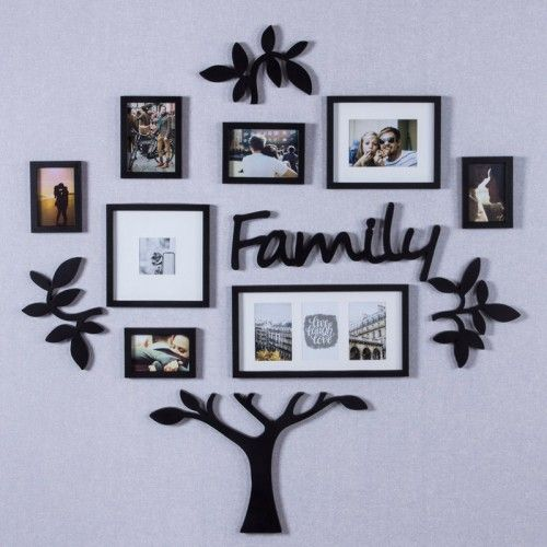 ARTMORE 13-Picture Hanging Collage Frame (Black) In 2019