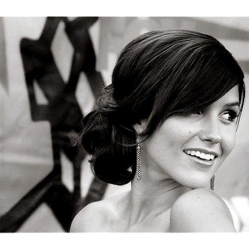 Bridesmaid hair. hair.