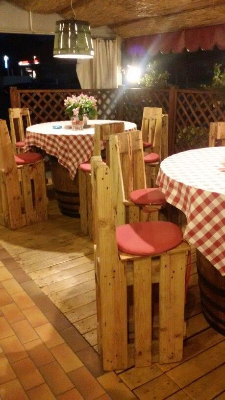 Tavoli e sgabello by marco
