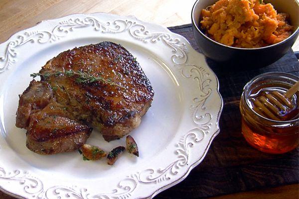 Pan Roasted Brined Pork Chops | www.flipmyfood.com