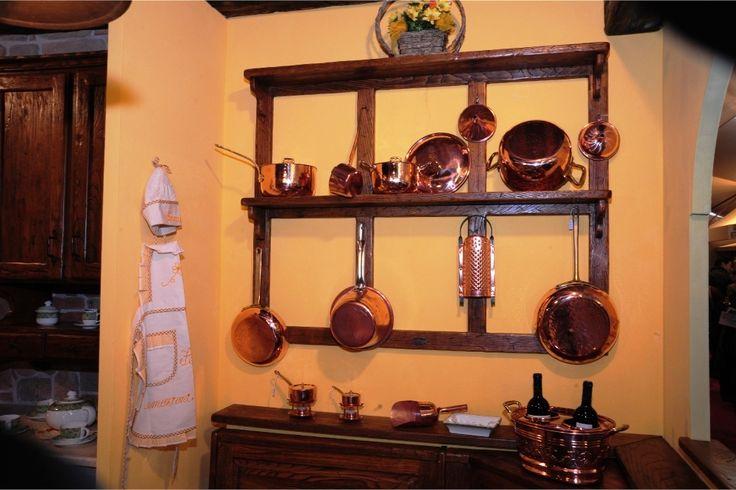Accessori ed utensileria da cucina in rame stagnato