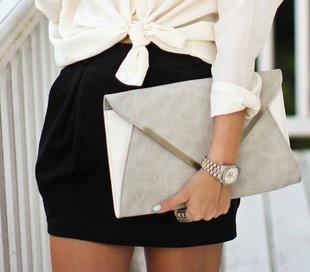 Clutch!: Fashion Style, Color, Black White, Grey, Nails Polish, Clutches Bags, Accessories, Watches, Envelopes Clutches