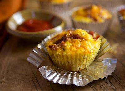 about Savory-Savoury Cupcakes on Pinterest | Bacon breakfast cupcakes ...