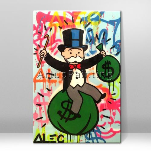 Details About Alec Monopoly Superman Abstract Pop Art Graffiti Art