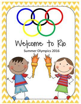 Rio de Janeiro Summer Olympics Unit for kids!