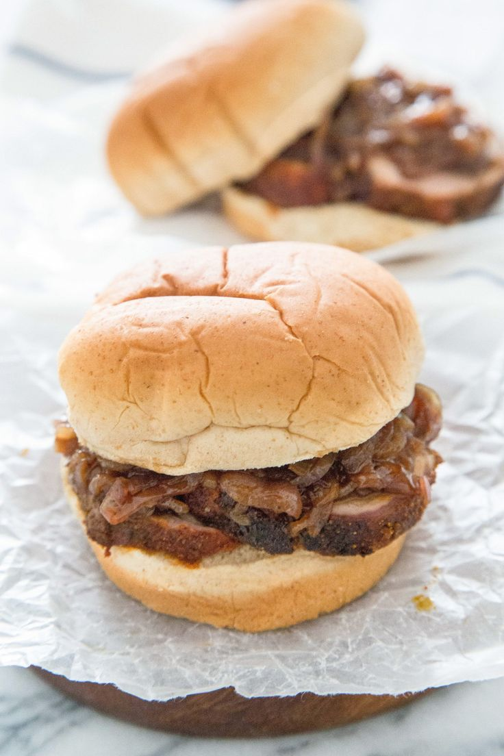 Recipe: Pork Tenderloin and Onion Jam Sandwiches — Recipes from the Kitchn
