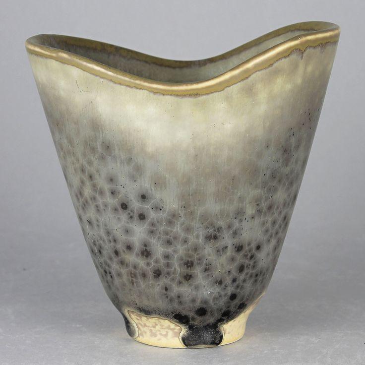 Carl-Harry Stalhane (1960s) Fascinating Gape Vase