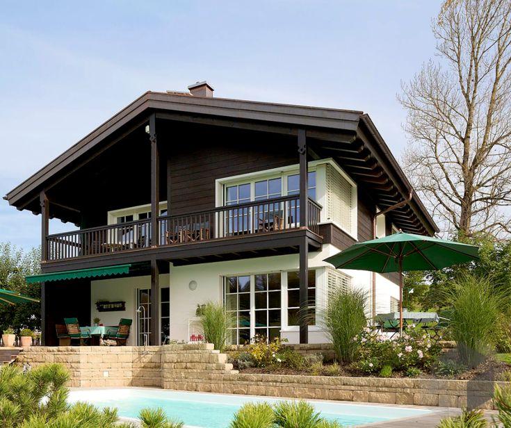16 besten alpenl ndische h user bilder auf pinterest alpen architektur und fassaden. Black Bedroom Furniture Sets. Home Design Ideas