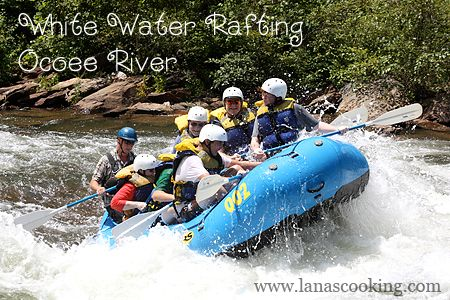 White Water Rafting on the Ocoee River in Tennessee
