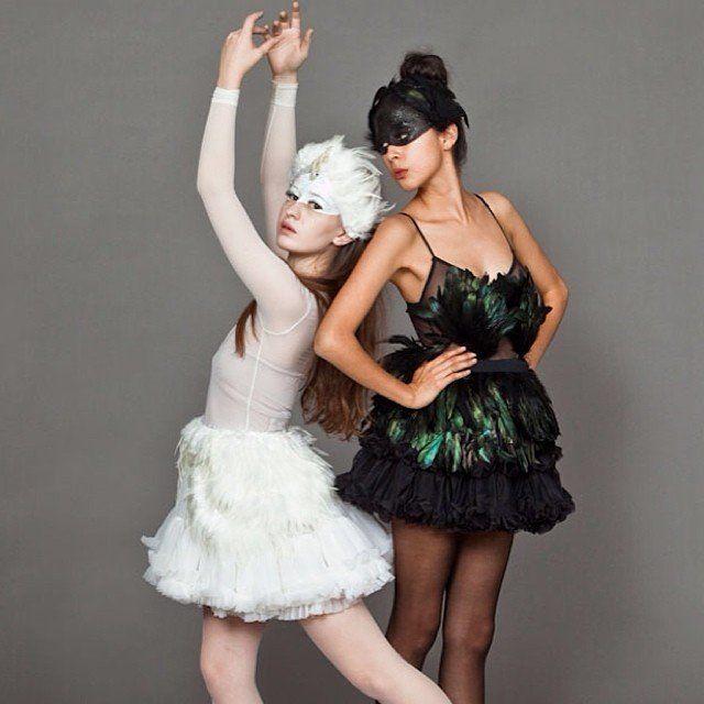 White Swan and Black Swan