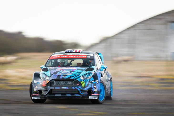 Project RX43: Ford Fiesta ST rallycross race machine.